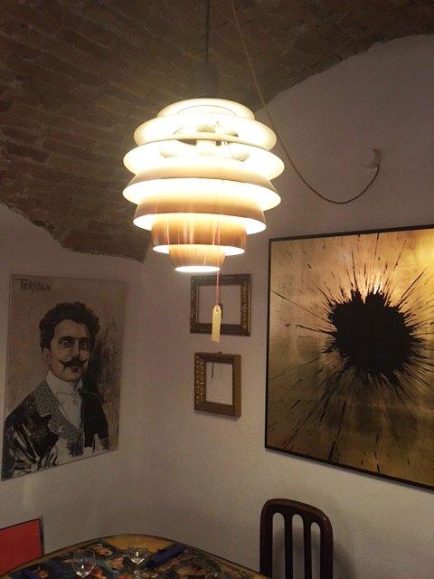 Interno del locale RE MESCIO - LE BISTROT ARTISTIQUE ad Albissola Marina