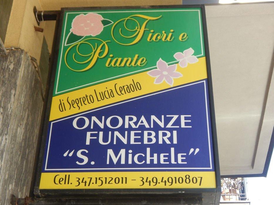Pubblicità onoranze funebri San Michele