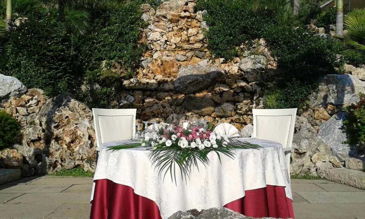 Composizione floreali per cerimonia
