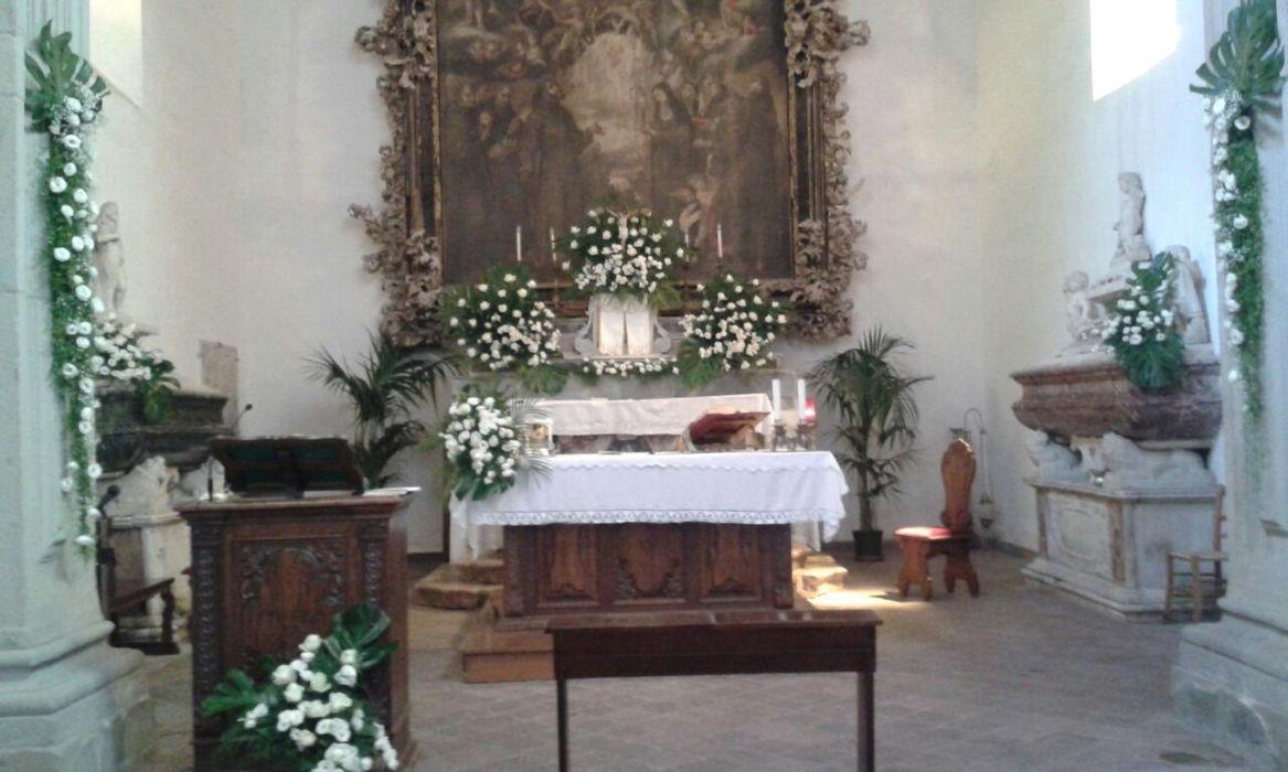 Addobbi floreali per cerimonie funebri