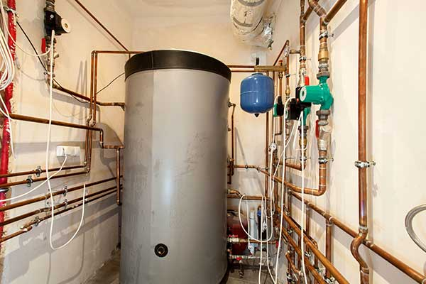Water heater in an apartment in Canandaigua