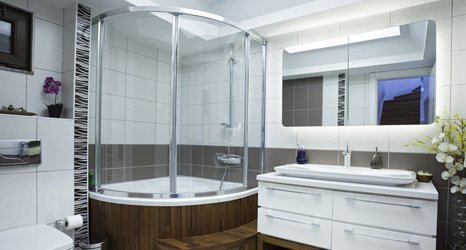 Thermostatic mixer showers