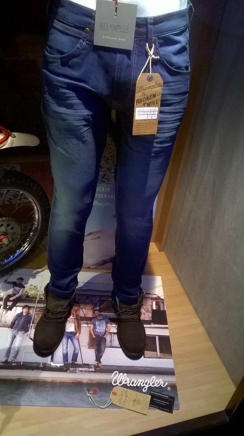 Jeans wrangler blu scuro