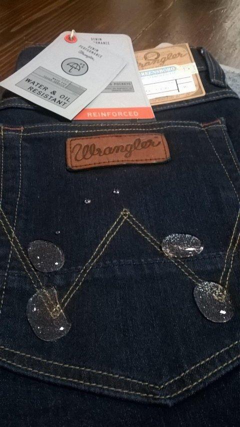 Jeans Wrangler blu