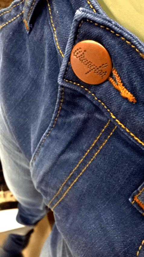 Dettaglio di jeans