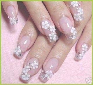 Multicolor Louboutin manicure