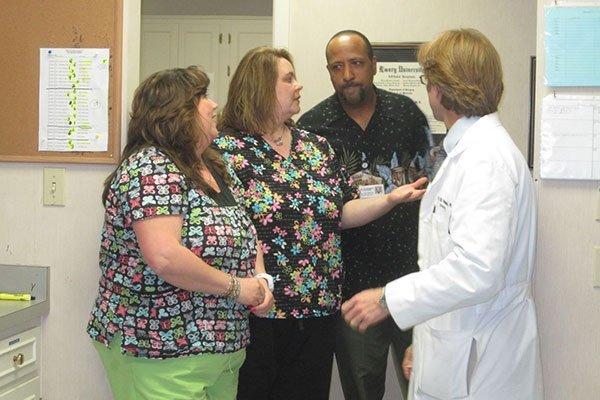 Medical Center Urology's staff