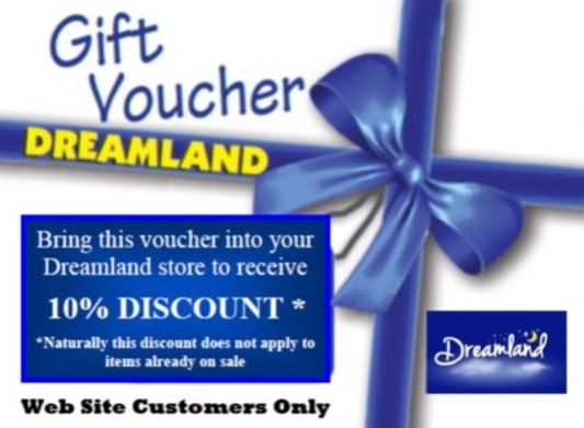 Dreamland discount voucher