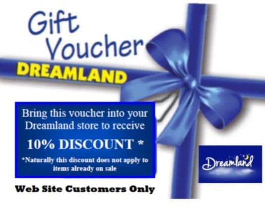 Dreamland discount voucher