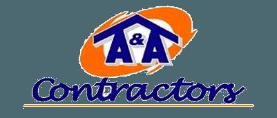 A and a contractors logo