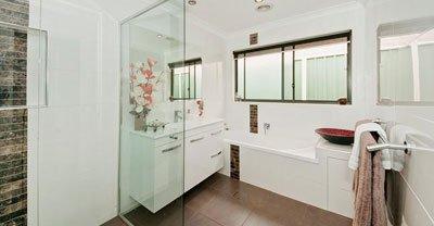 A and A Contractors bathroom