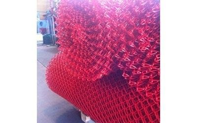 plastic coared galvanised mesh