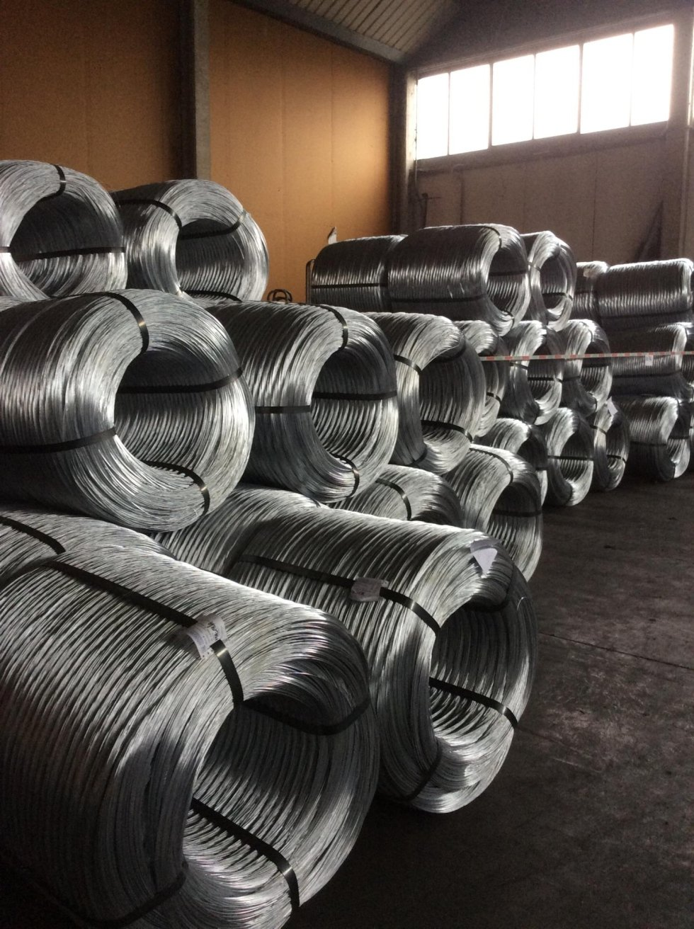 bundles galvanised wire