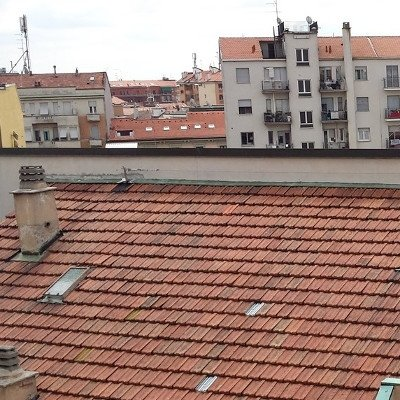 linee vita anticaduta su un tetto