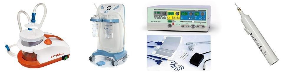 aspiratori, elettrobisturi