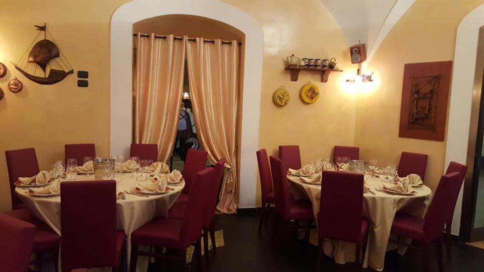 La locanda di Mimí a Caserta - sala interna