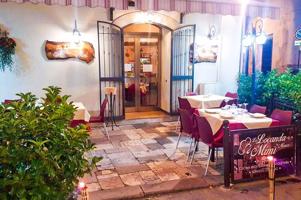 La locanda di Mimí a Caserta - giardino esterno