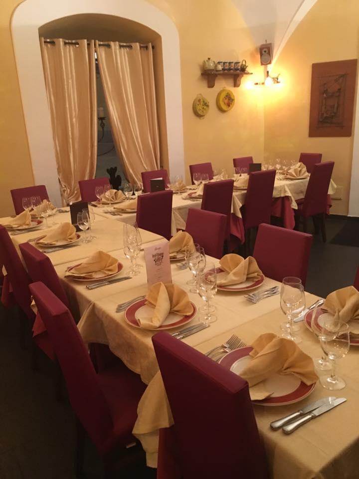 La locanda di Mimí a Caserta interno ristorante