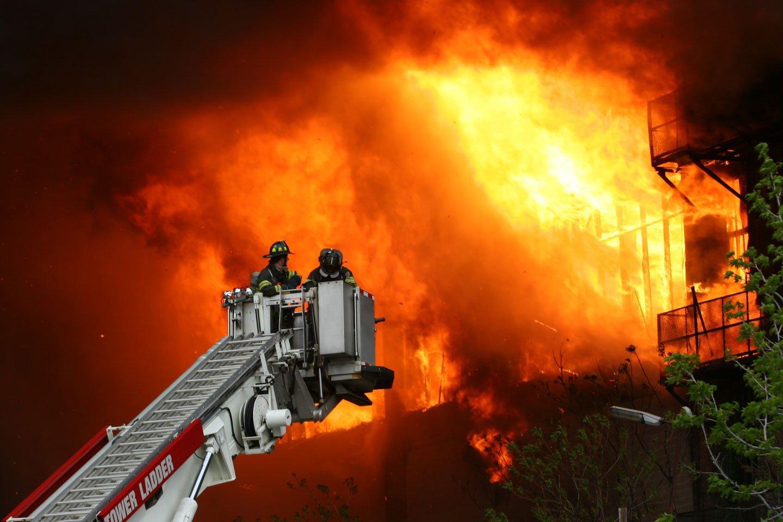 Icona - Servizio di vigili del fuoco
