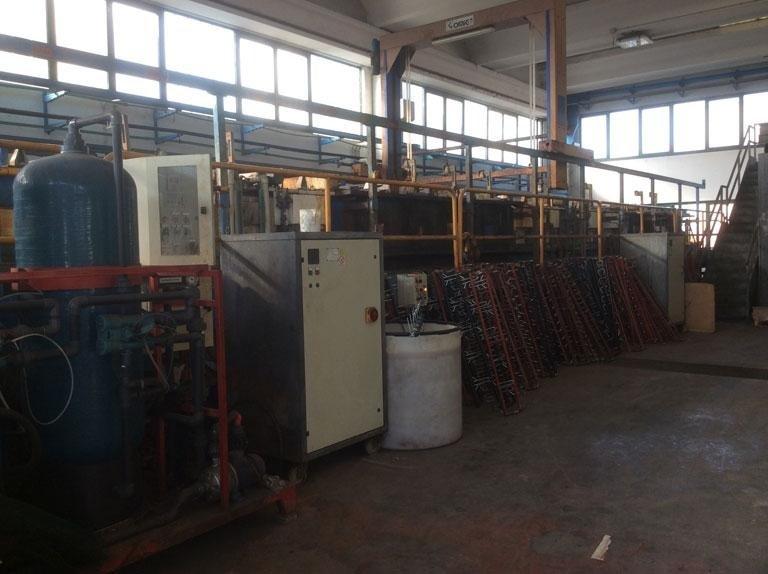 Macchinari di produzione zincatura