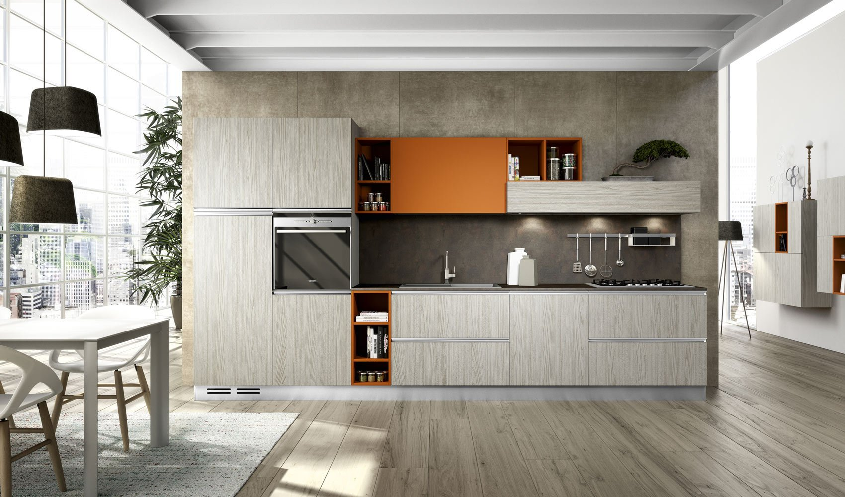Cucine in poco spazio za06 regardsdefemmes - Riordinare la cucina ...