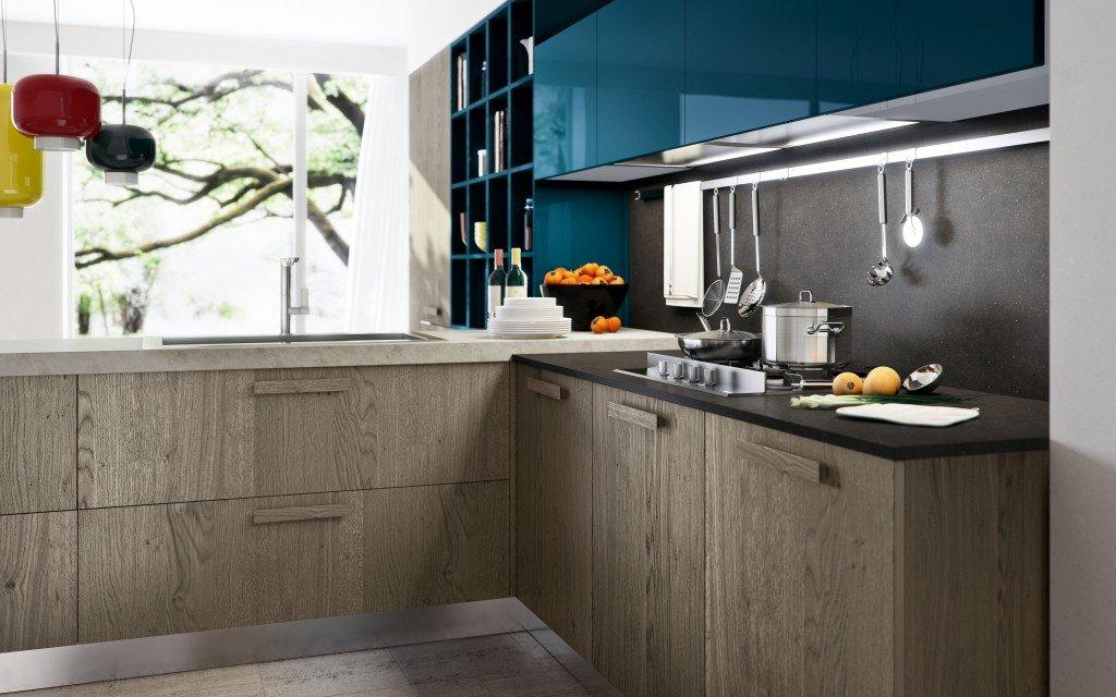 Cucina in poco spazio amazing gallery of arredare casa - Creare un bagno in poco spazio ...