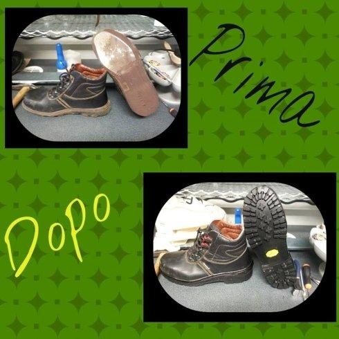 riparazione scarpe calzature calzolaio cecina livorno risuolatura scarpe lavoro