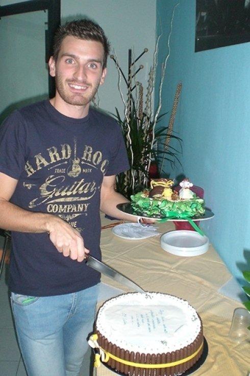 Inaugurazione laboratorio calzolaio cecina livorno toscana torta