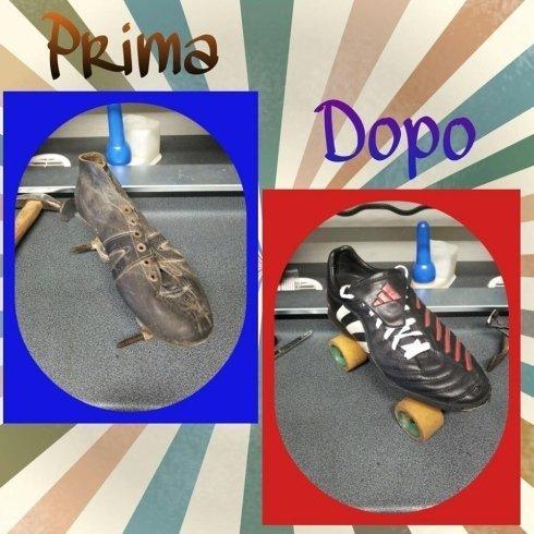 riparazione calzature scarpe pattini calzolaio cecina toscana