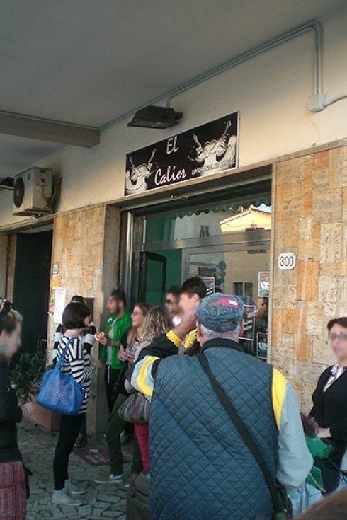 Inaugurazione laboratorio calzolaio cecina toscana