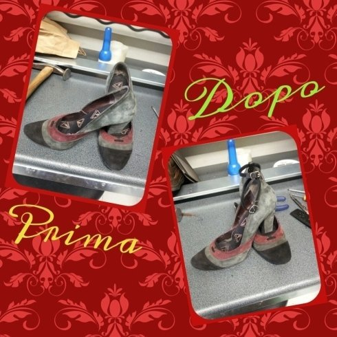 aggiunta cinturino scarpe eleganti riparazioni calzature calzolaio borse cinture cecina toscana livorno