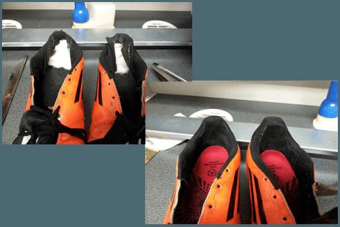 sistemazione scarpe