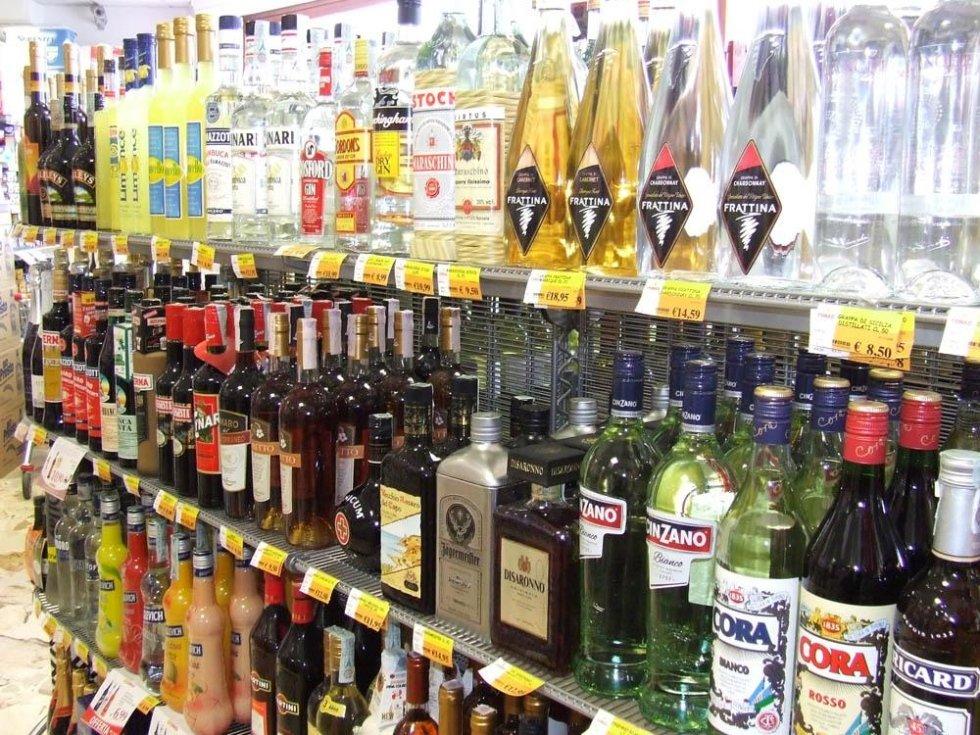 liquori e vini