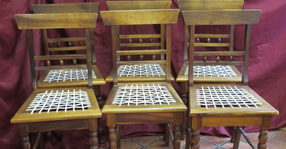 Restored chairs