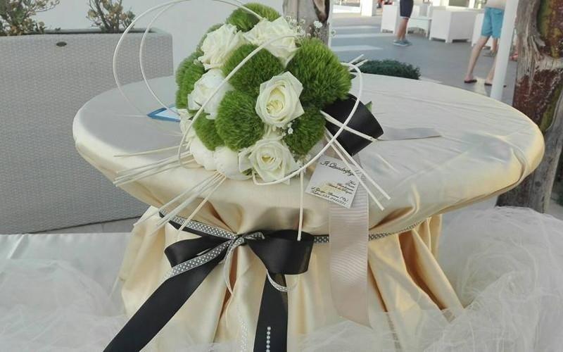 composizione floreale centrotavola