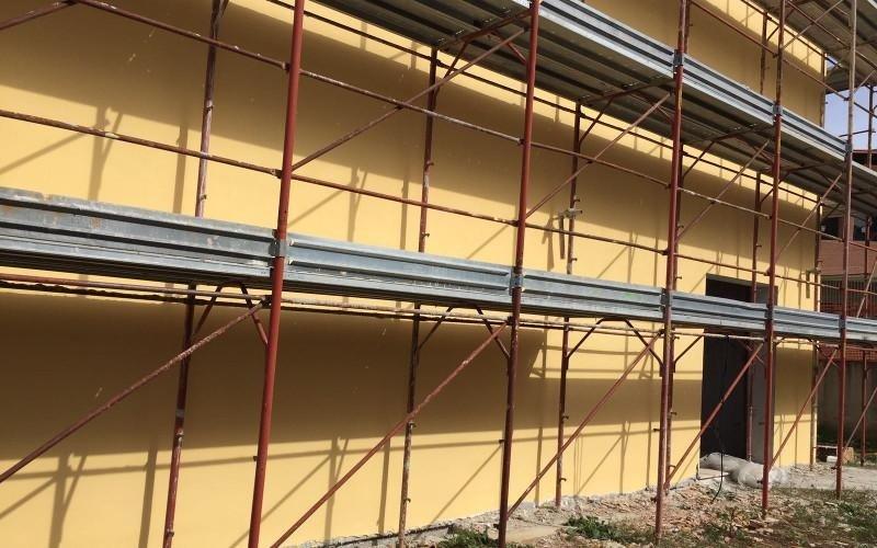 costruzione facciata