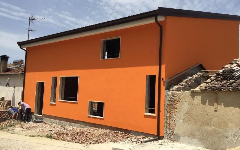 struttura casa ultimata