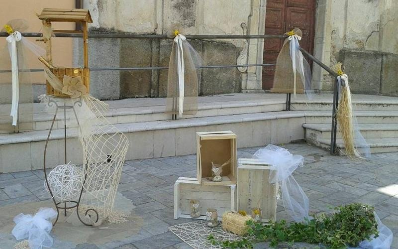 allestimenti ingresso chiesa