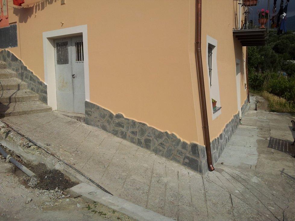 facciata e tetto ad Arenzano