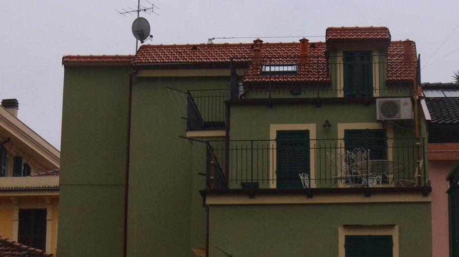 facciata e tetto a Varazze
