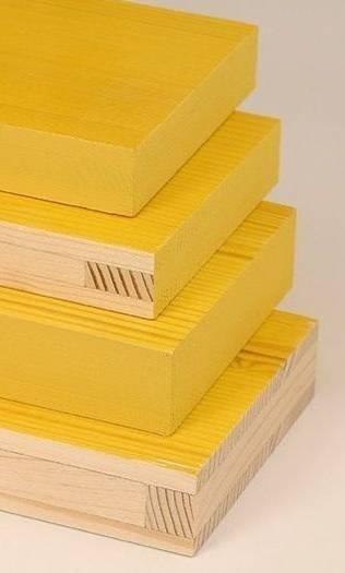 Pannelli gialli per casseformi