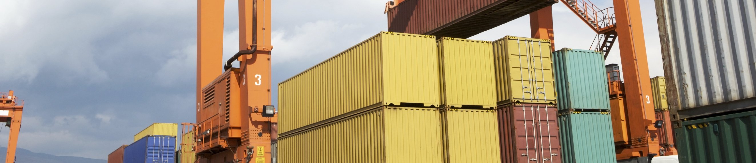 View of the container