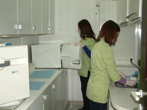 assistenti reparto di sterilizzazione