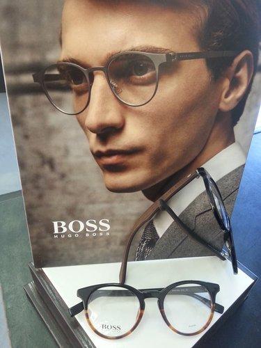 occhiali da vista a marchio UGO BOSS