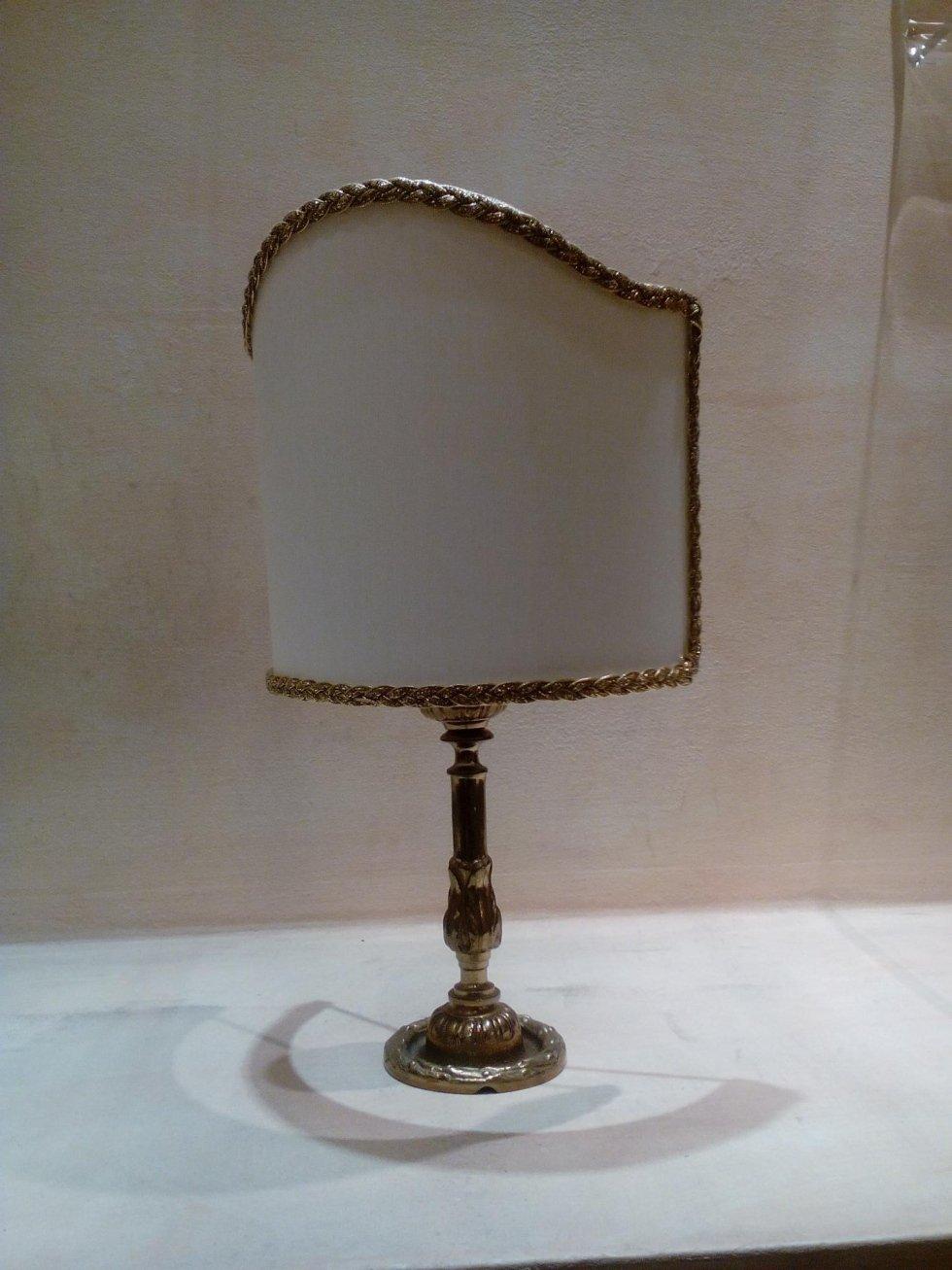 lampada in ottone il crogiolo frosinone