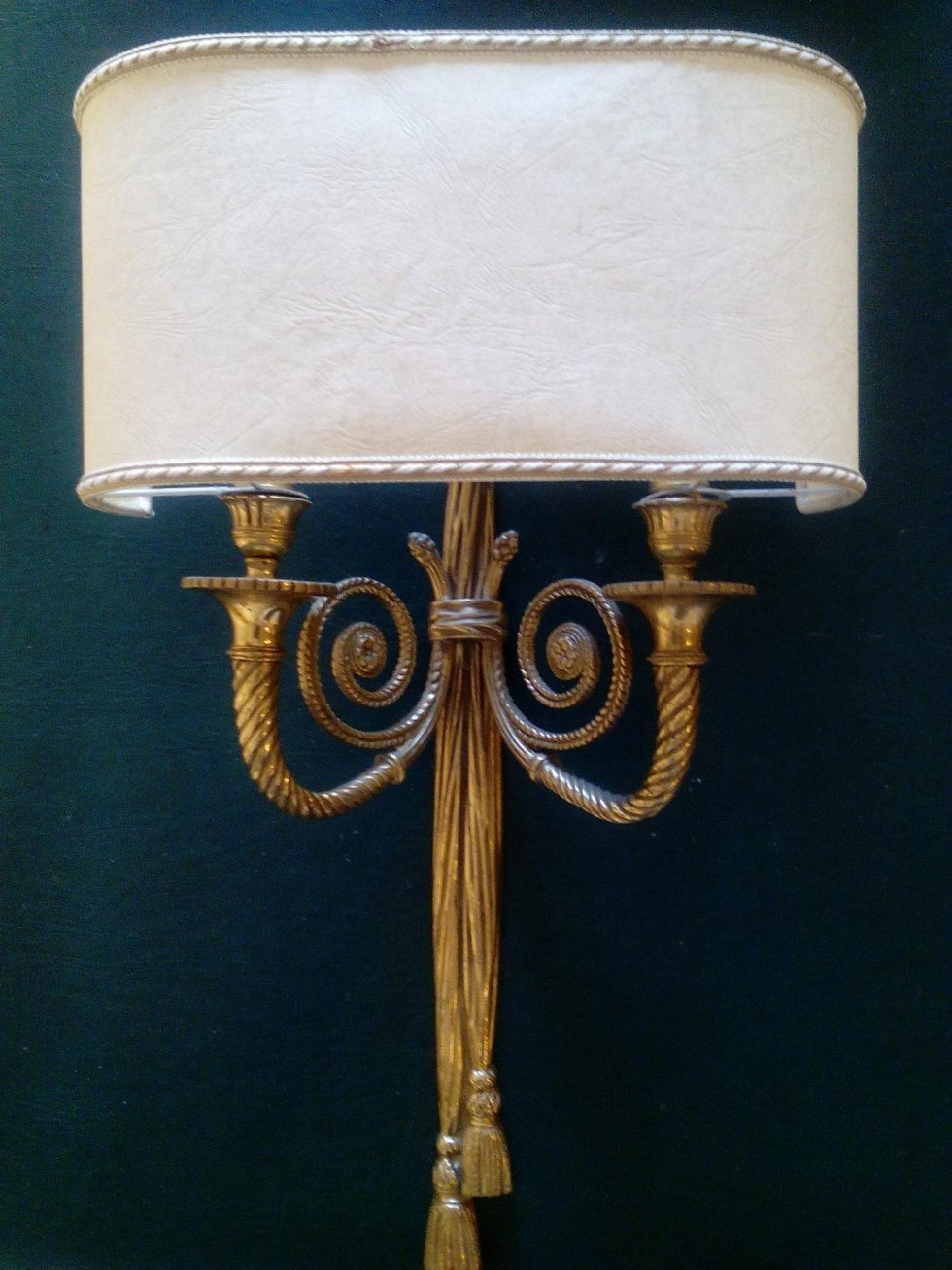 illuminazione per interni in ottone il crogiolo