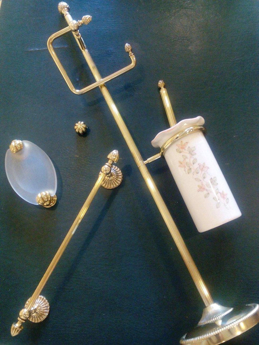 accessori da bagno in ottone il crogiolo frosinone