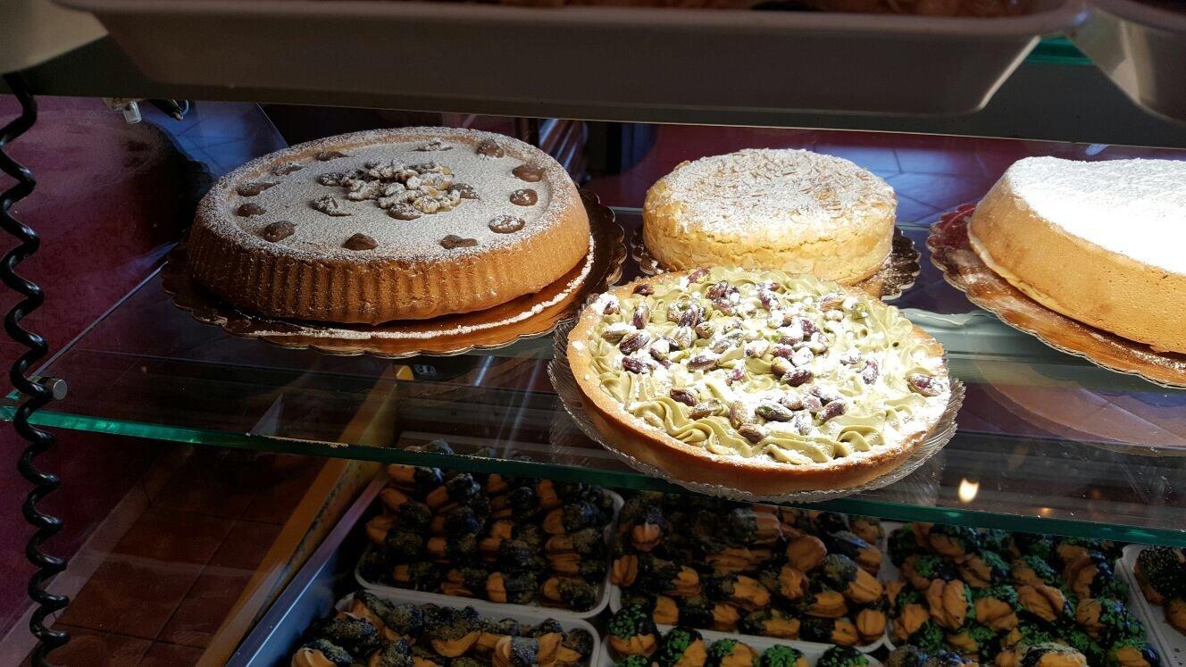 Foto di torte alla crema bianca