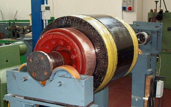 Rotore locomotiva