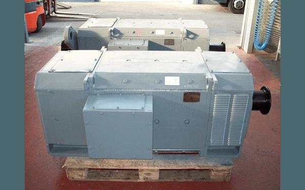 Motore corrente continua impianto di risalita